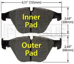 Hawk Pads Chart Hawk Brake Pad 08 10 Bmw M3 D918