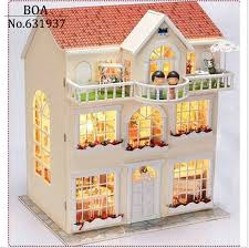 building doll furniture. DIY Doll House Dream Fairy Model Building 3D Mini. Furniture O