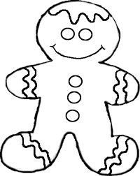 gingerbread cookie clipart black and white. Fine Gingerbread Intended Gingerbread Cookie Clipart Black And White T