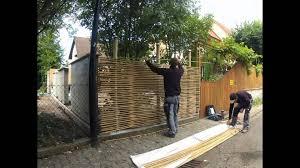 Wandbegr Nung Sichtschutz Selber Bauen Garten Pinterest