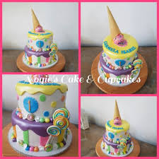 Ice Cream Themed Cake Nogies Cake And Cupcake