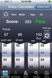 Us Army Apft And Body Fat Calculator Iphone App