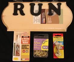 race medal display rack supplies