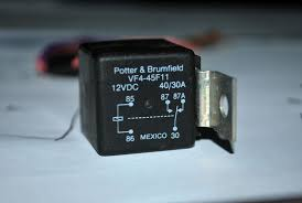 the world according to dog283 2012 30 87 and 87a are the switched parts of the relay the potter brumfield relay pictured has both n o and n c switches 30 and 87a is the n c connection