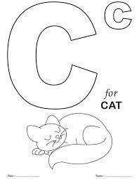 Printables Alphabet C Coloring Sheets Download Free Printables