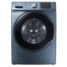 blue washer and dryer.  Blue HighEfficiency Front Load Washer With Steam In Azure Intended Blue And Dryer The Home Depot