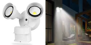 cinoton led security lights motion outdoor
