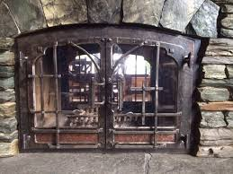 forged fireplace doors 1 of 2