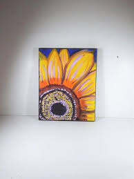 sunflower painting on canvas floral kitchen wall art whimsical living room decor mom on whimsical kitchen wall art with sunflower painting on canvas floral kitchen wall art whimsical