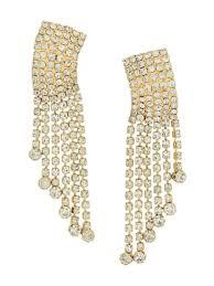 susan caplan vintage 1980 s cascading earrings m