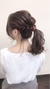 編み込みで今っぽヘアのできあがり簡単なやり方を徹底解説 Arine