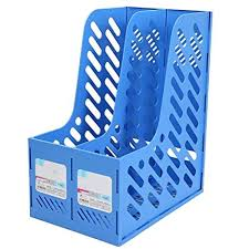 Blue Magazine Holder Amazing Amazon Blue Plastic Magazine Holder Frame File Splitter Filing