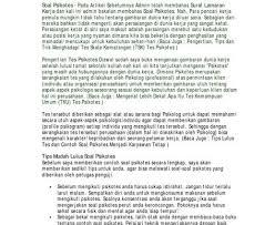 Free kunci jawaban brain test 2 cerita masa sma level 1 20 bahasa indonesia mp3. Contoh Kumpulan Soal Psikotes Dan Jawabannya Bali Teacher