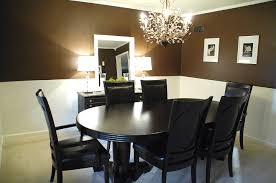 catchy brown dining room decor with brown dining room decor