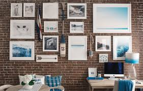 Exposed Brick Wall How To Hang A Gallery Wall On Exposed Brick Walls Bright Bazaar