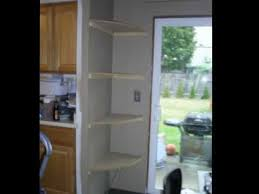 building corner shelves