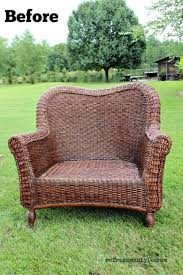 painting rattan furnitureBest Spray Paint For Rattan Furniture  Home Painting