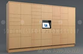 smart locker with audit tracking package deliveries storage ssg tz 500
