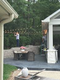 How To Hang String Lights On Patio How To Use String Lights To Create Fantastic Outdoor Setups