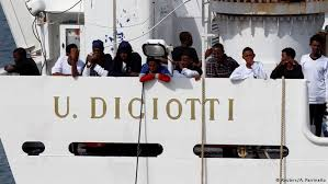 Image result for ship diciotti