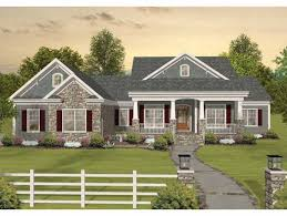 image of simple ranch house plans with walkout basement