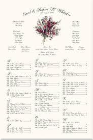 Majestic Monogram Wedding Seating Charts Wedding Reception