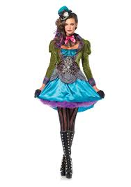 deluxe mad hatter women s costume