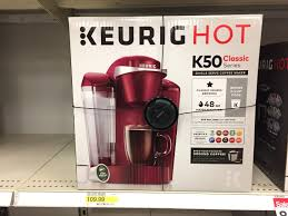 Target Small Kitchen Appliances Lowest Price Ever Keurig K50 Coffee Maker Only 32 At Target