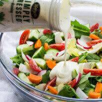 garden salad recipe. Modren Salad Easy Garden Salad Throughout Recipe Culinary Hill