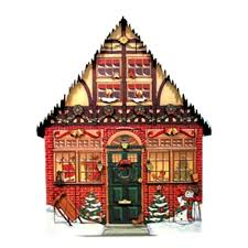 com byers choice house advent calendar home kitchen