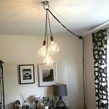 outdoor plug in chandelier lighting amazing gazebo hanging