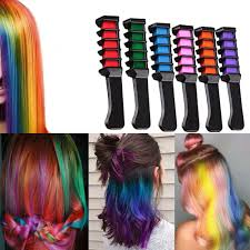Disposable Instant Hair Color Chalk Comb