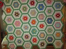 Missy's Homemaking Adventures: Grandmother's Flower Garden Quilt & Grandmother's Flower Garden Quilt Adamdwight.com