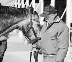 Holy Bull With His Trainer Jimmy Croll Thoroughbreds