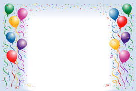birthday balloons border clip art. Beautiful Border Birthday Balloons Border Clip Art  Gallery To D