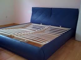 Bett Schlafzimmer Blaues Leder Sofort In 41061 Mönchengladbach