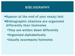 Ppt Footnotes And Bibliography Powerpoint Presentation Id3857822