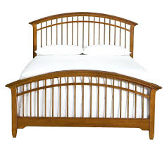 Queen Spindle Bed Bridges Queen Spindle Headboard Bed Queen Metal ...