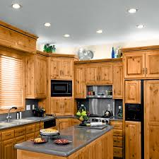 image of kitchen recessed ceiling lights