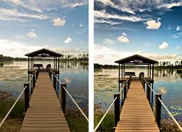 hdr photography before after. Contemporary Before Path To The Dock HDR  Before U0026 After And Hdr Photography F