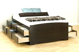 full size platform storage bed beds with underneath large of drawers king f75