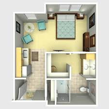 Commercial Building Plans  Commercial Building Plan For Assisted Assisted Living Floor Plan