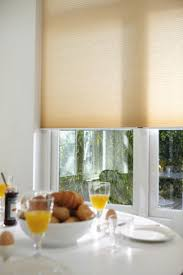 Duette energy saving blinds for the kitchen. Neutral home