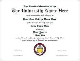 College Replacements College Replacements Diploma Diploma - College Diploma -