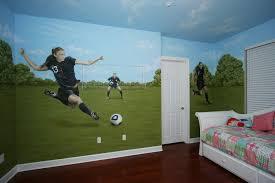 soccer themed bedroom. Modren Soccer Soccer Themed Bedroom Intended Themed Bedroom S