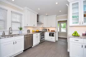 White Kitchen Decor Classy White Kitchen Cabinets With White Granite Countertops Cute