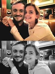 Harry potter star tom felton hasn't stopped looking for love after the rumours surrounding him and emma watson. Allthingsfeltson Draco Harry Potter Tom Felton Emma Watson Dramione