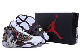 jordan shoes 13. kids air jordan 13 brown leopard white shoes