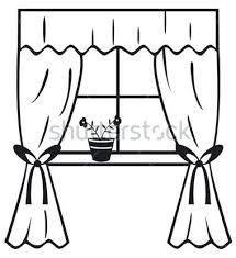 window clipart black and white. Delighful Clipart Curtain Clipart Black And White Clip Art Window Light Svg Library Stock In Window Clipart Black And White W