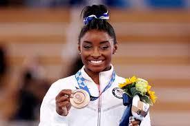gymnastics great Simone Biles after ...